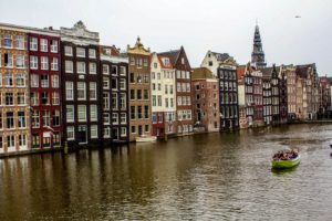 Dutch houses near Red Light District