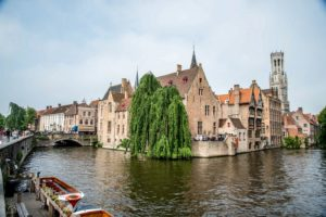 The most photographed spot in Bruges