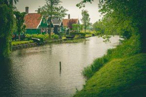 Zaanse Schans canal