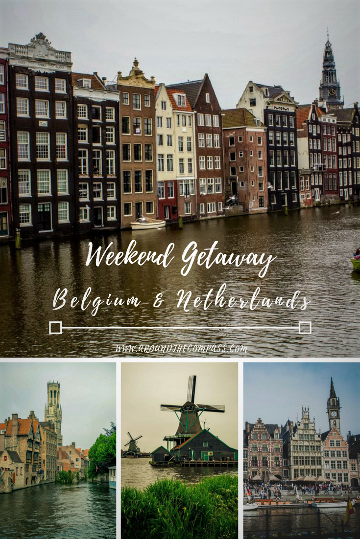 Check out how me made the most of a long weekend in Bruges, Ghent, Amsterdam and driving around the Netherlands in search of Dutch windmills.