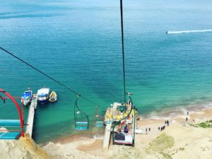 Chairlift near the Needles