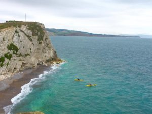 Kayakers near Freshwater Bay