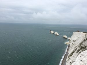 The Needles from a different viewpoint