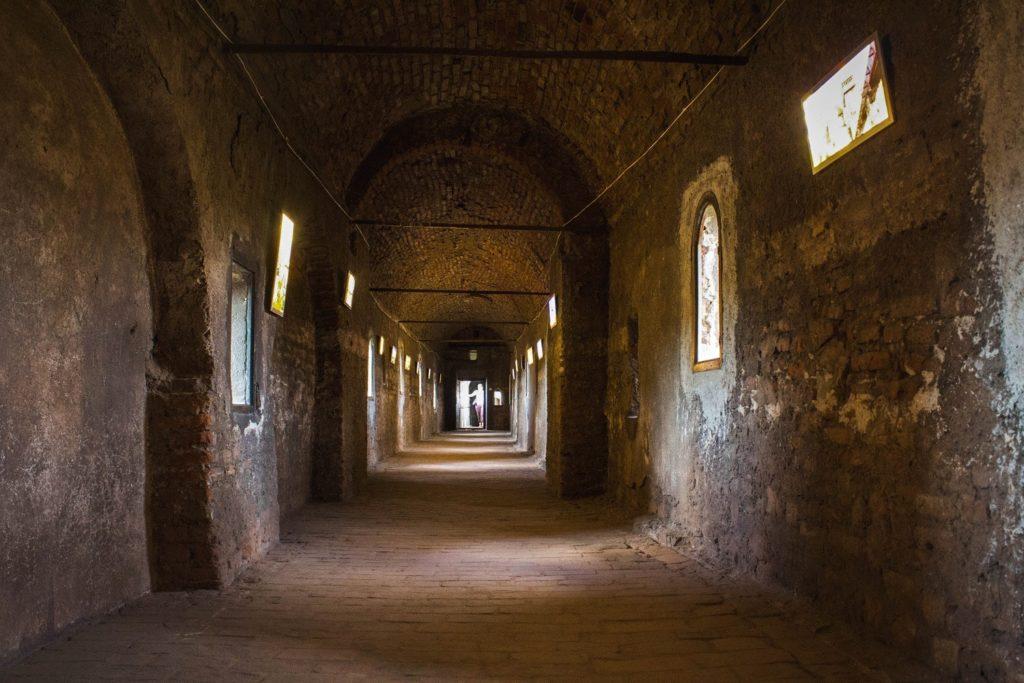 Hallway in Corvin Castle