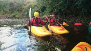 Kayaking - River Wye