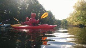 Paddling on River Wye