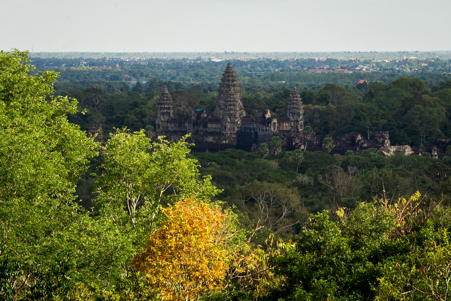 Angkor Wat view from Phnom Bakheng