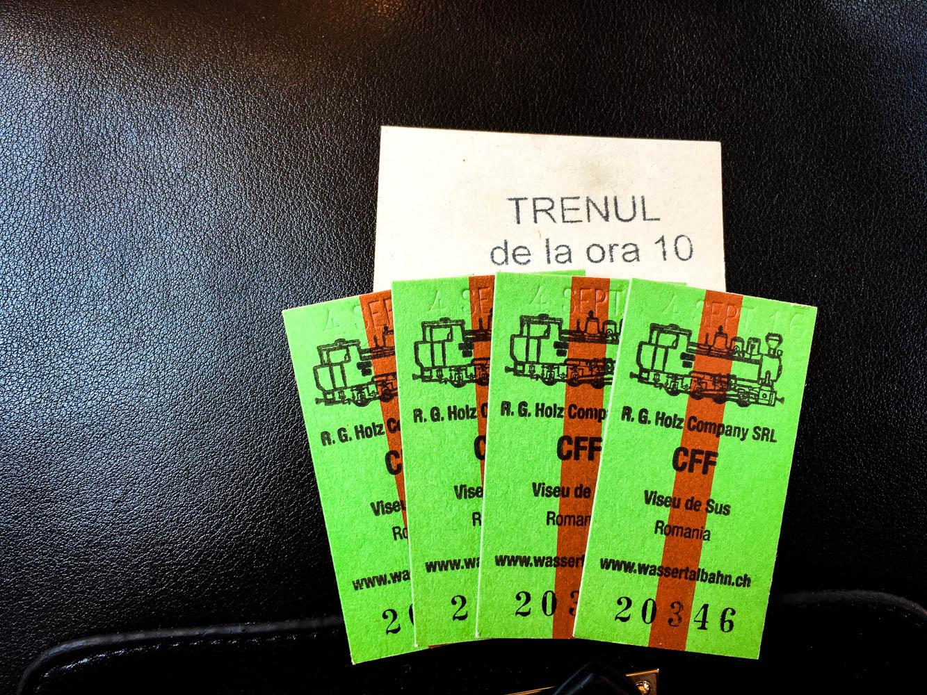 Mocanita Tickets