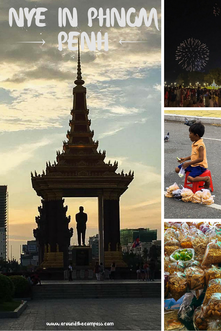 On our Southeast Asia trip around the holidays we decided to spend New Years Eve in Cambodia's capital, Phnom Penh where we celebrated with the locals.