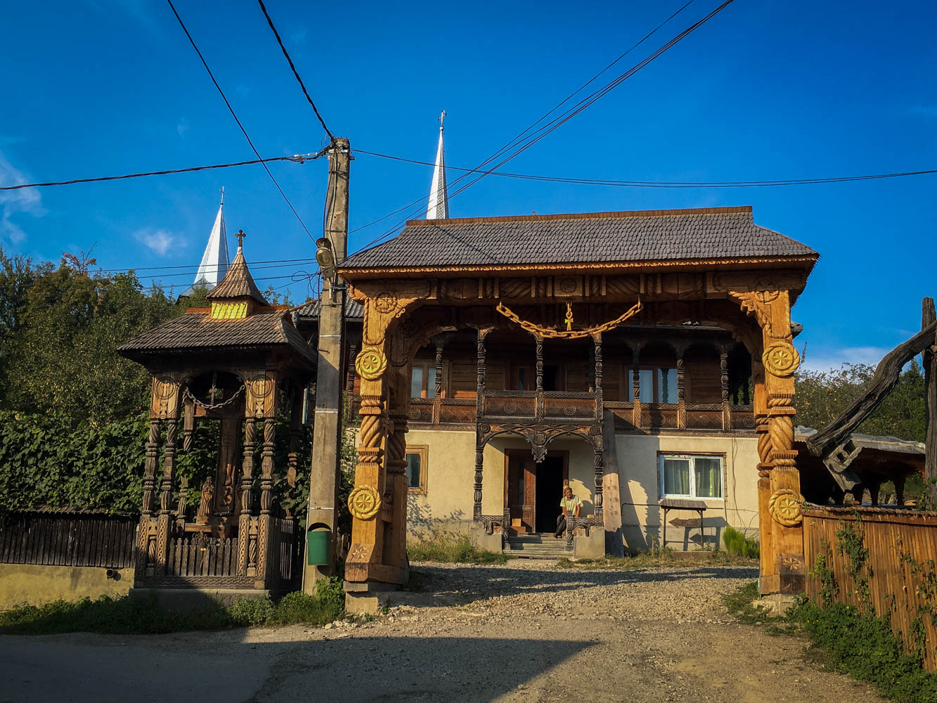 Wooden Gate Maramures