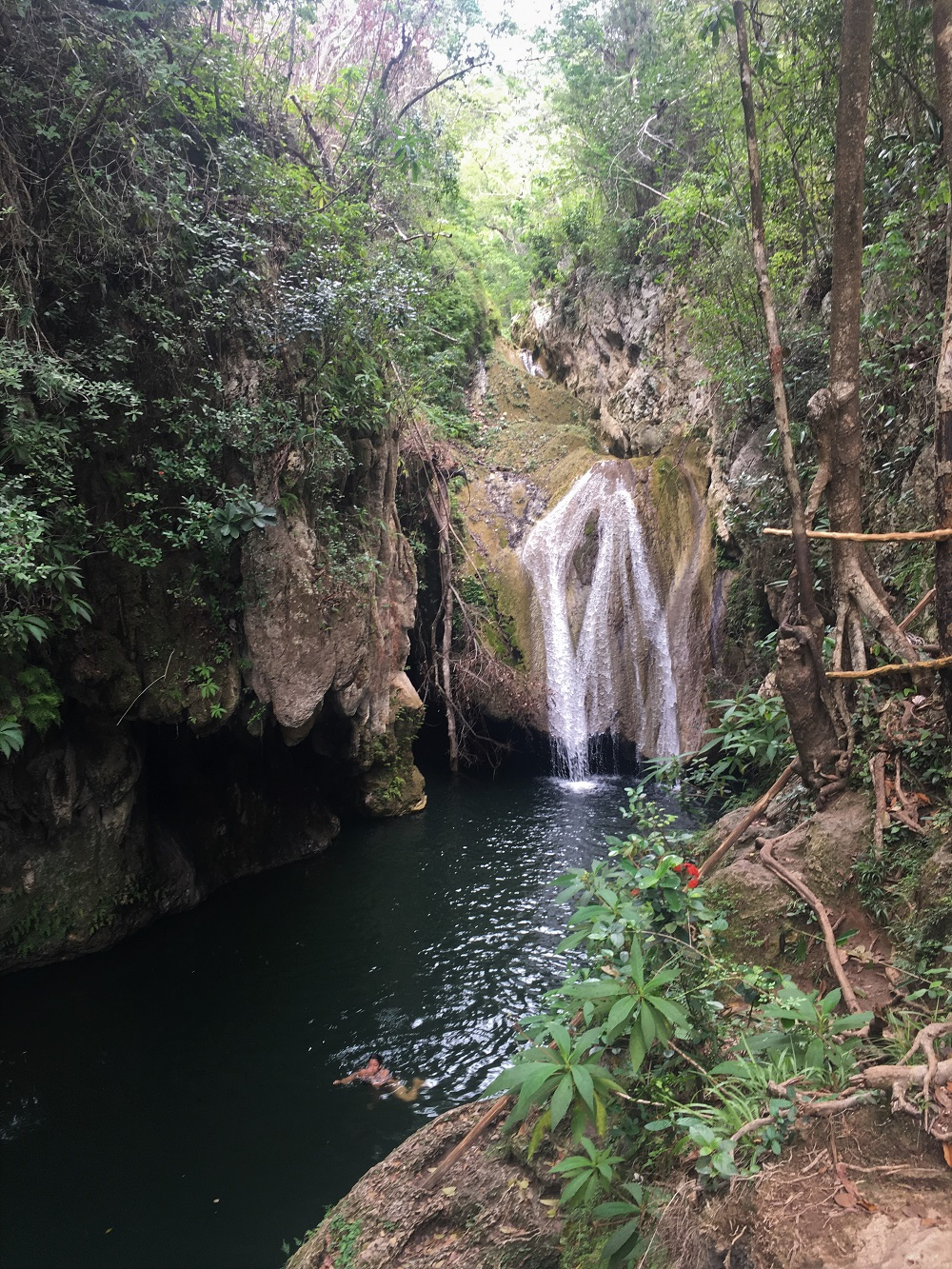 El Cubano Waterfall