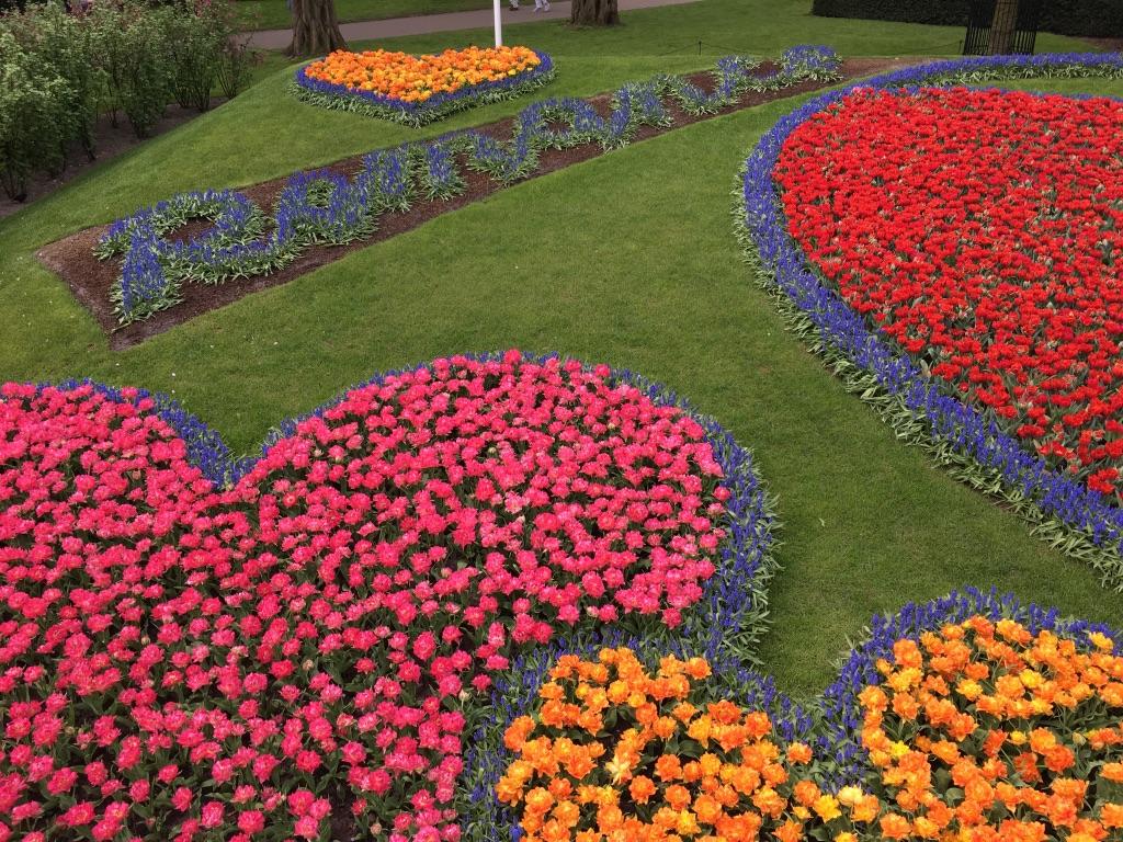 Romance in flowers
